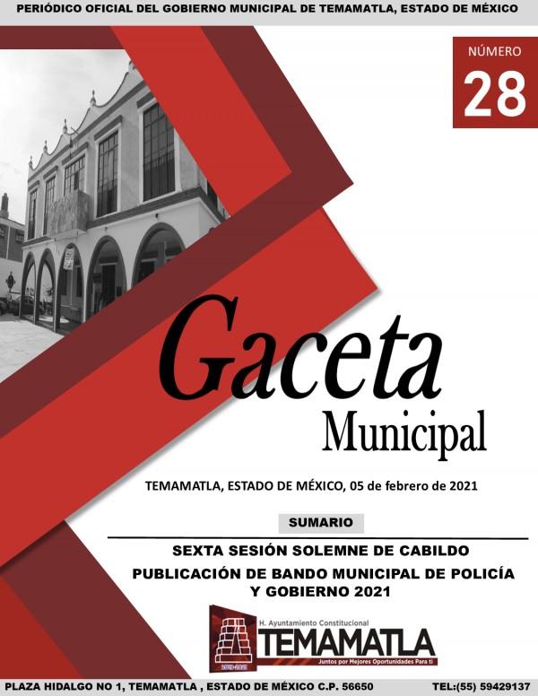 GACETA 28